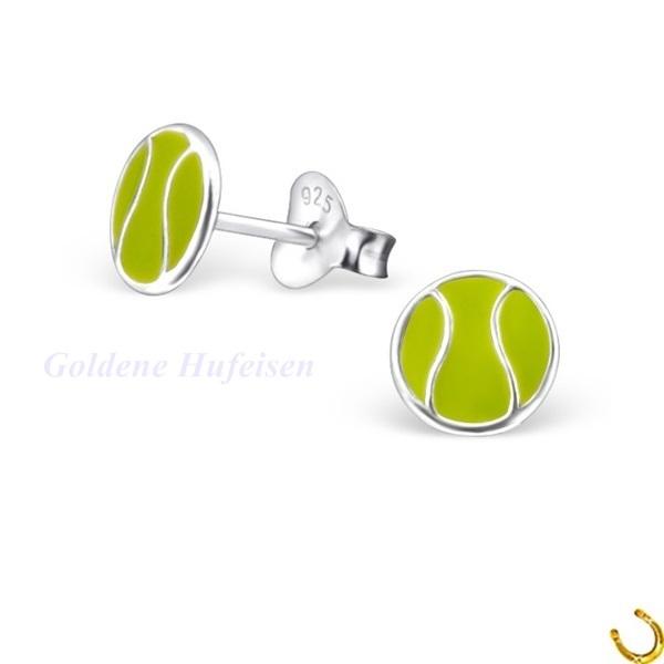 Kleeblatt Ohrstecker 925 Echt Silber Ohrringe Geschenkidee Glücksbringer gh-1a