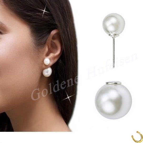 Perlen ohrstecker echt